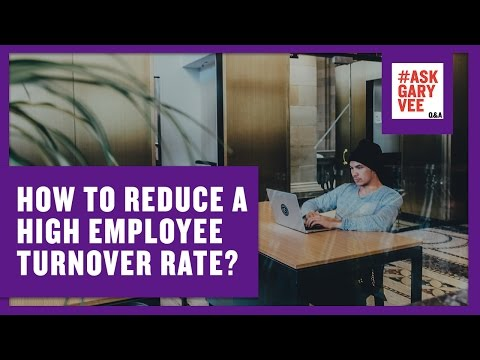 How to Reduce a High Employee Turnover Rate?