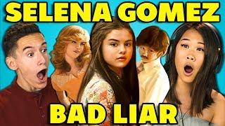 TEENS REACT TO SELENA GOMEZ - BAD LIAR