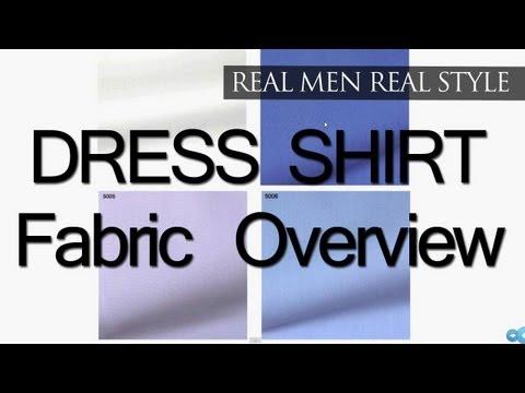 Mens Dress Shirt Fabrics - Solid Colored Shirts - Semi-Solid - Stripe - Check Shirt Fabrics & Weaves