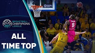 All-time Top Posterizers Of The Basketball Champions League!