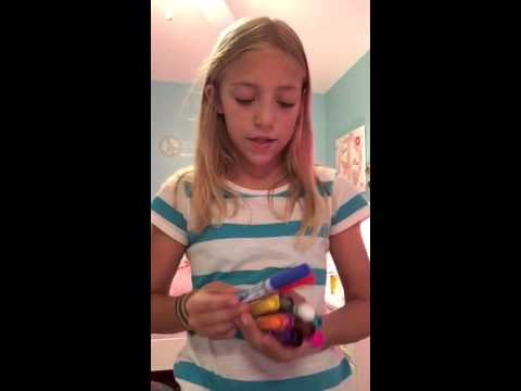 How to organize your crayon box