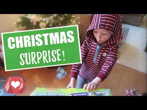 CHRISTMAS MORNING SURPRISE! 🎄 2016 Vlog