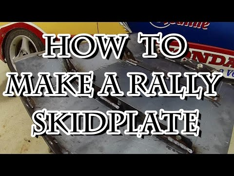How to Make a Rally Skidplate