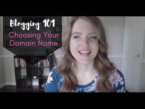 Blogging Series - Choosing Your Domain Name