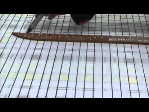 how to make a grid mat