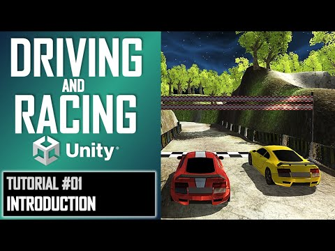 How To Make A Driving Racing Game In Unity - Tutorial Part 001 - Beginners