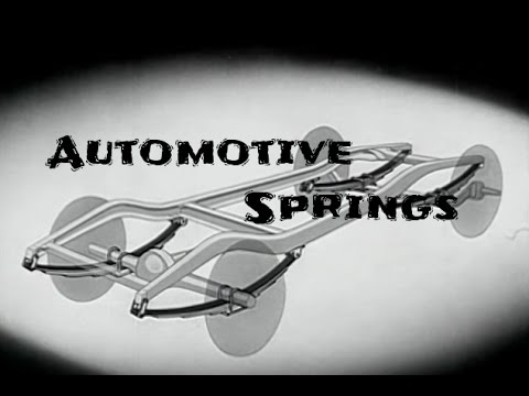 Basics of Automotive Leaf Springs and Coil Springs
