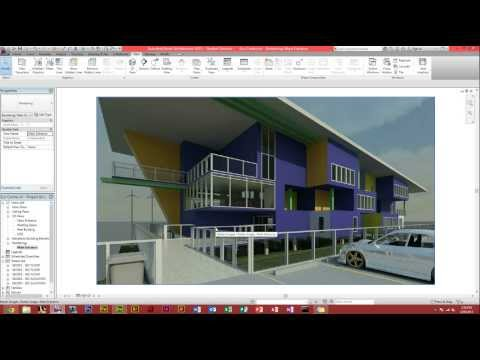 Autodesk Revit Architecture - How To Make A Render