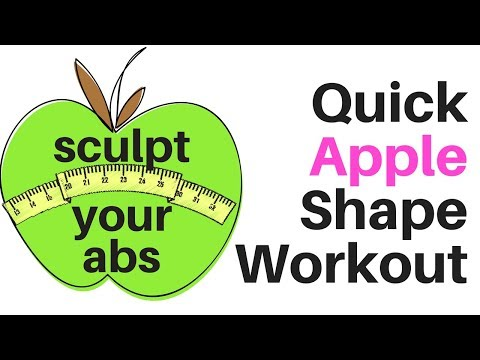 AT HOME WORKOUT TO TONE YOUR ABS AND WAIST - ideal for the typical apple shape🍏