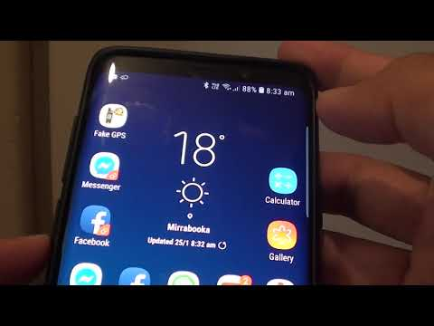 Samsung Galaxy S9: Enable / Disable Use When Phone Speaker Playing (Bixby Voice)