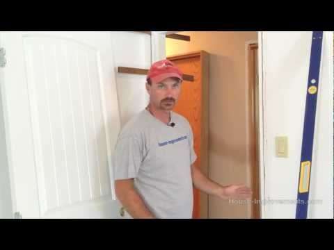 How To Remove & Install An Interior Door