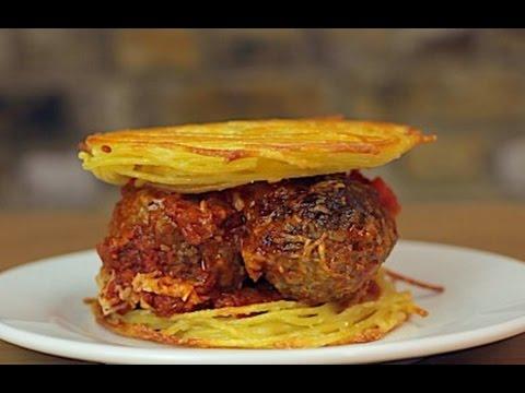 Spaghetti MeatballWich