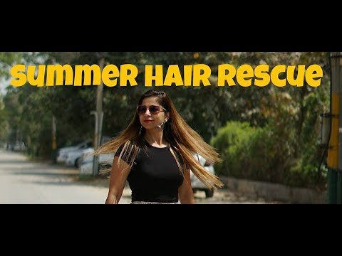 Amazing Hair Care Tips For Summer | How to Get Rid of Dull, Damaged and Frizzy Hair in One Week