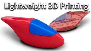 Lightweight 3D Printing