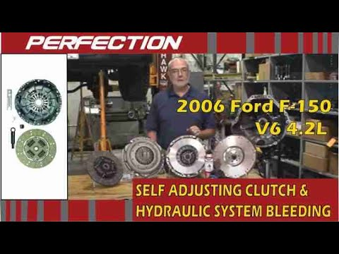 Ford F-150 4 2L Self Adjusting Clutch and Hydraulic System Bleeding