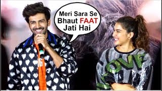 Kartik Aryaan Shares He Is SCARED Of Girlfriend Sara Ali Khan At Love Aaj Kal 2 Trailer Launch