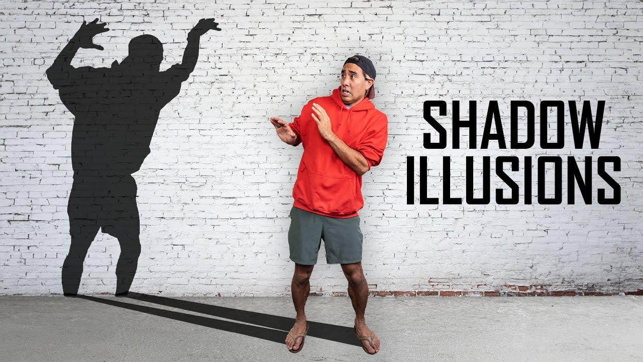 Shadow Optical Illusions w/ Zach King