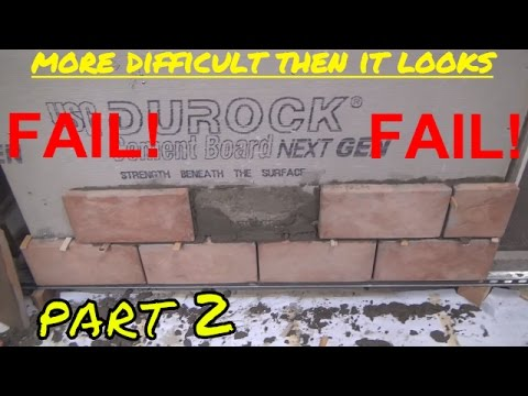 FAIL - How I Failed at Installing Stone Veneer EP 2