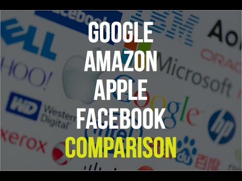 Google vs. Amazon vs. Apple vs. Facebook