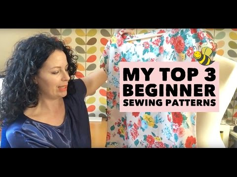 Sewing Patterns for Beginners - My Top 3