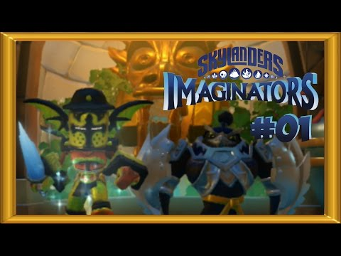 Skylanders Imaginators Walkthrough 100% -  Expert Mode |  ALL COLLECTIBLES | 2 Player - Part 1
