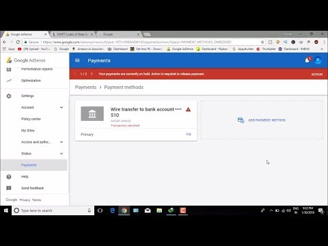 How to fix AdSense payment problem || Automatic Payment Cancelled Fix It
