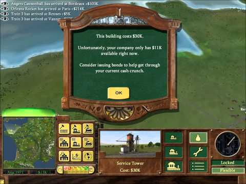 Railroad Tycoon 3 Tutorial Part 3: Industry and Further Expansion