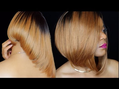 CLIPPER CUT BOB NO LEAVE OUT   START TO FINISH TUTORIAL