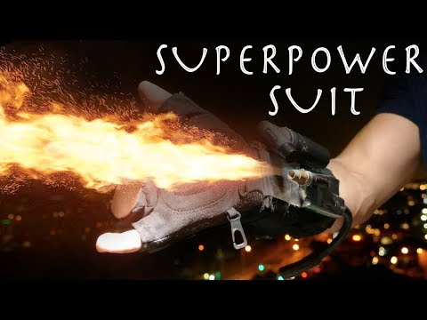 Make a SUPERPOWER SUIT SYSTEM! - Switchable Gadgets, Amazing Results!!!