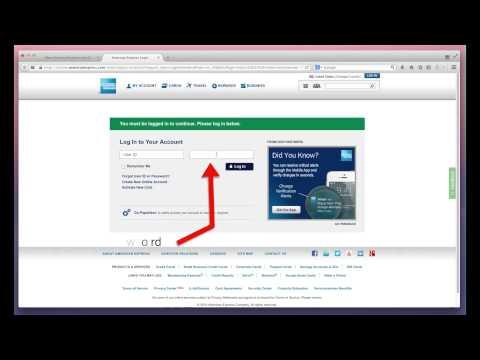 American Express Check Your Bill through Americanexpress.com checkyourbill