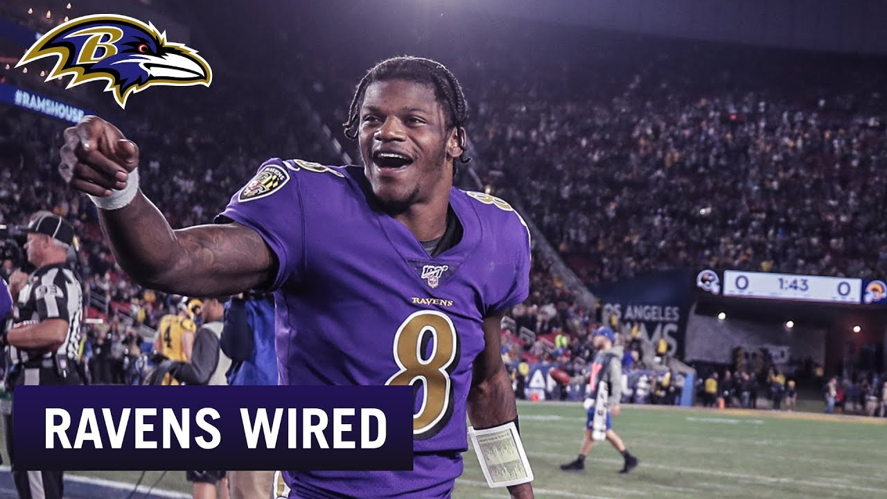 Ravens Wired vs. the Rams: The Stars Shine in Los Angeles