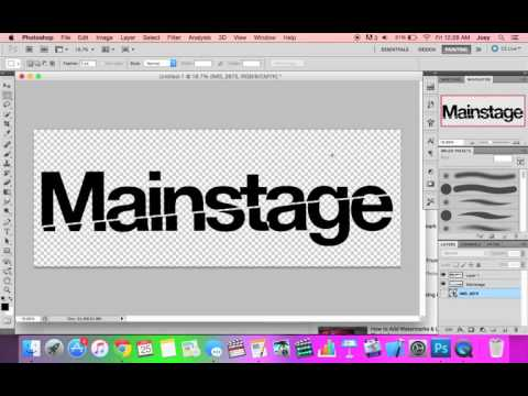 How To Make Transparent PNG Text in Photoshop