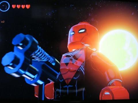 Lego Batman 3 How to make Deadpool