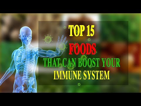 TOP 15 FOODS THAT CAN BOOST YOUR IMMUNE SYSTEM