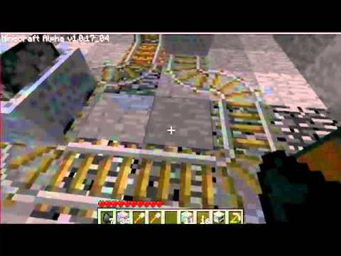How to go Up in a Minecart in Minecraft