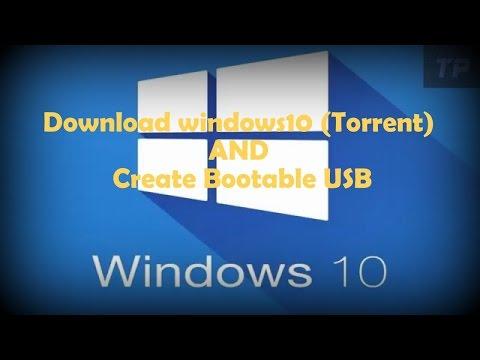 Download windows10 (Torrent) AND create bootable usb | উইন্ডোজ ১০ ডাউনলোড,ইউএসবি বুটেবল এবং ইন্সটল