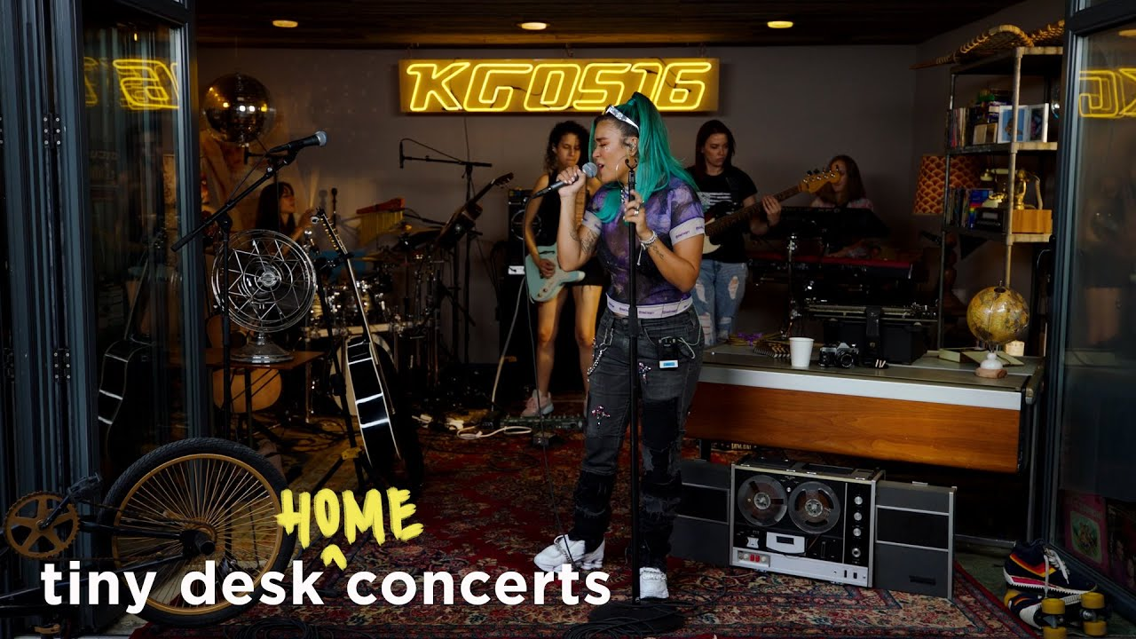 Karol G: Tiny Desk (Home) Concert