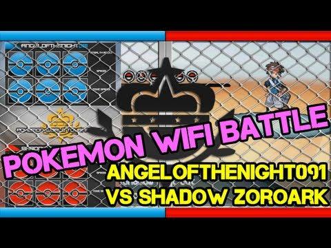 Black 2 & White 2 Wifi Battle vs Shadow Zoroark - Announcer: Robert