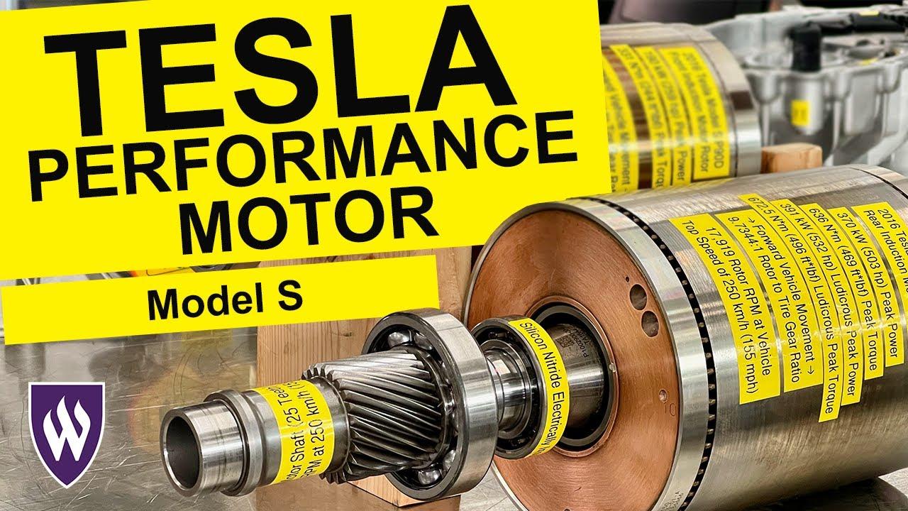 Understanding the Tesla Model S Performance Motor