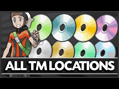 How & Where to Get - All TM Locations in Pokemon Omega Ruby & Alpha Sapphire