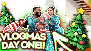 ROYAL FAMILY'S NEW INTRO!! | VLOGMAS DAY 1