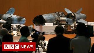 Saudis say weapons prove Iran behind oil attacks - BBC News