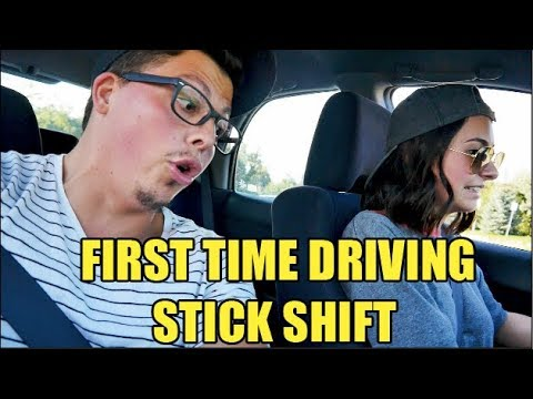 TEACHING MY FIANCÉ HOW TO DRIVE STICK SHIFT!