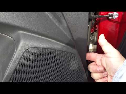 2015 Forester Driver Side Mirror Replacement and Door Panel Removal