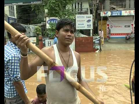 Flash flood in Guwahati