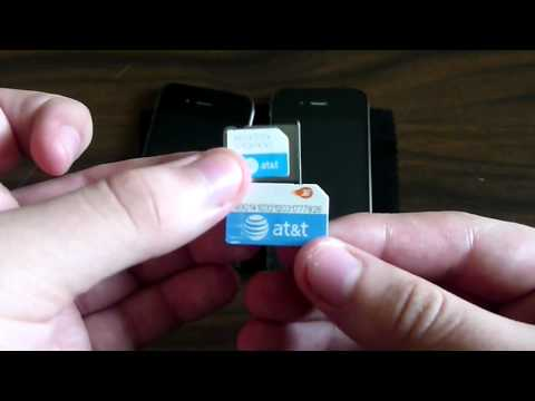 iPhone 4S: How to remove / insert a SIM Card