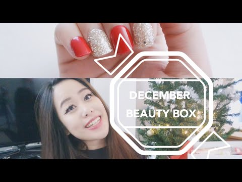 HOW TO EASILY GET PERFECT NAILS  (DECEMBER TARGET BEAUTY BOX UNBOXING)