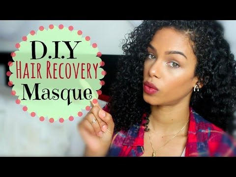 D.I.Y  Holy Grail Hair Recovery Mask | SunKissAlba