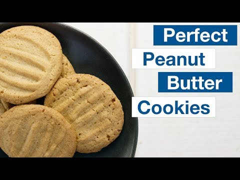 How To Make Peanut Butter Cookies  || Le Gourmet TV Recipes
