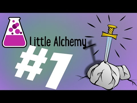 I Made Excalibur! | Little Alchemy #1